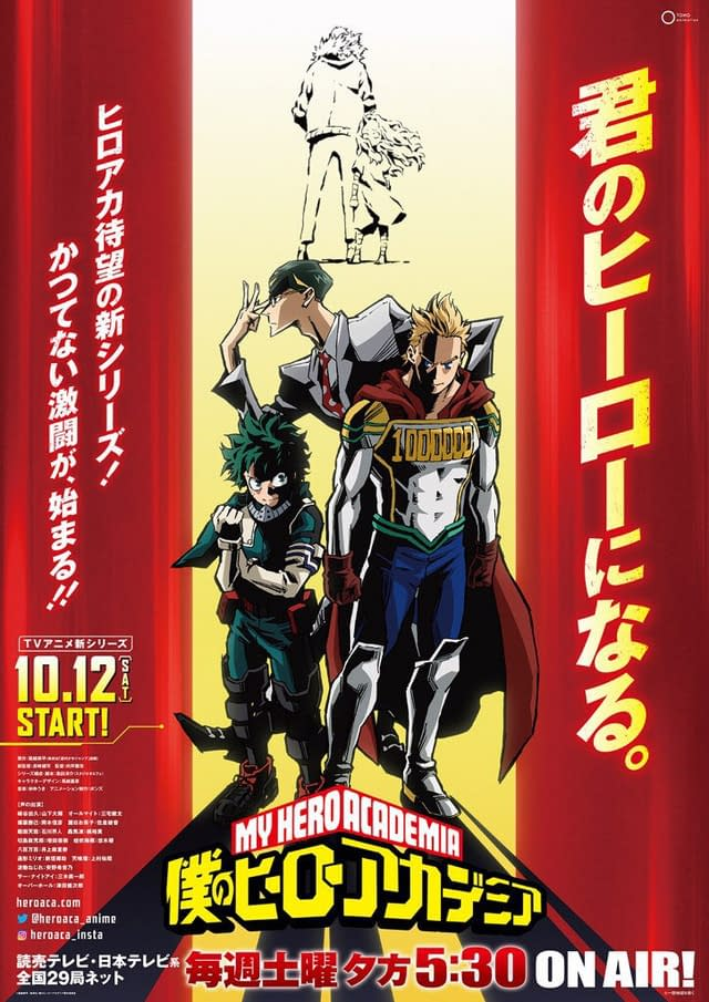 """My Hero Academia"" Season 4: Official Trailer, Poster; October 2019 Premiere; Sir Nighteye Introduced [VIDEO]"