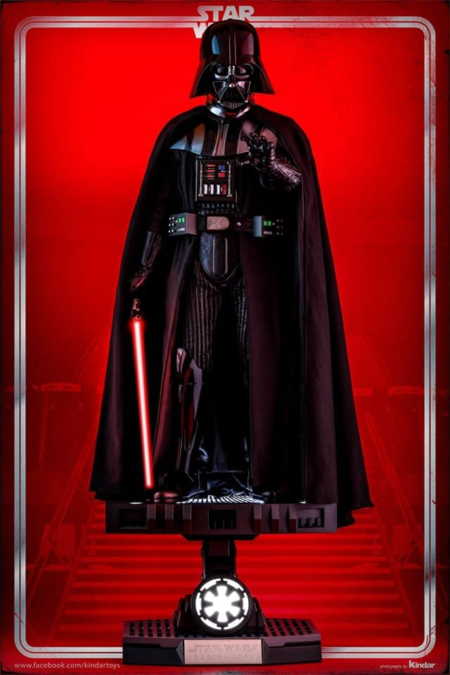 Darth Vader Shows the Wrath of the Empire in Hot Toys Preview
