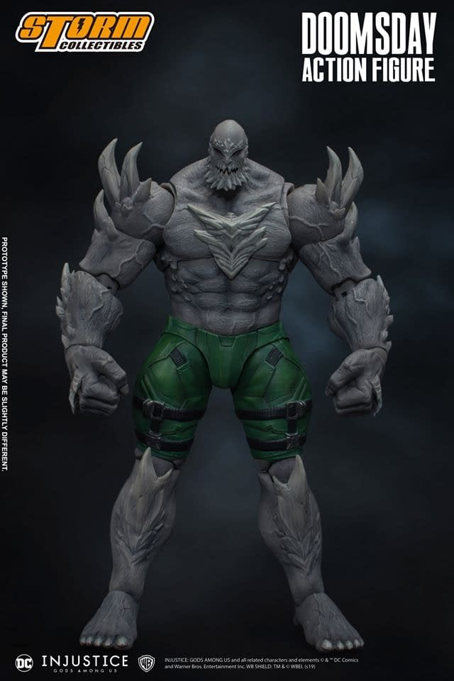 Doomsday Has Arrived with the New Storm Collectibles Figure