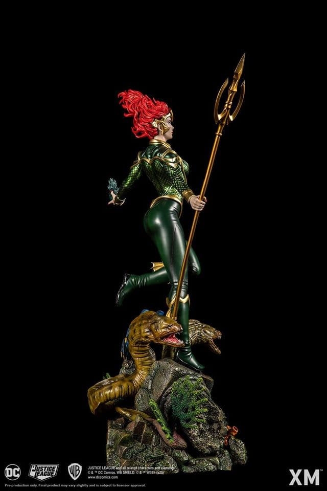 Mera Rises from the Depths with New XM Studios Statue