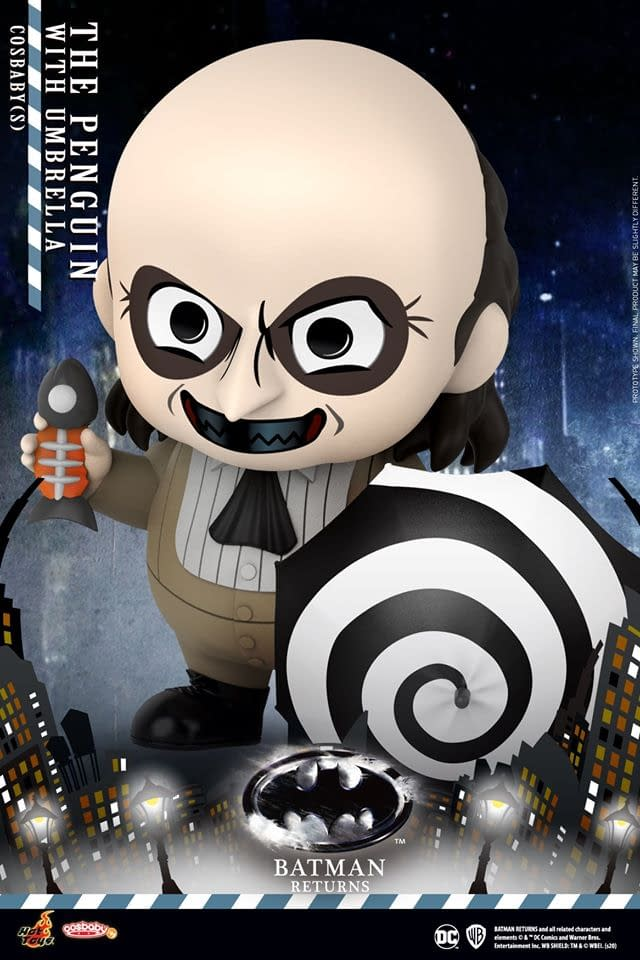 """""""Batman Returns"""" Receives Cosbaby Collectibles from Hot Toys"""