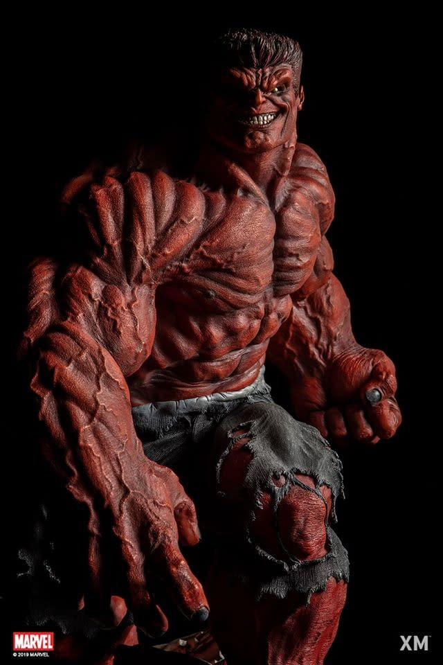 Red Hulk Is a Beast in the New XM Studios Statue