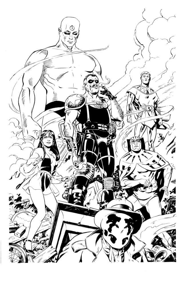 Watchmen Art They Can't Stop Us Posting