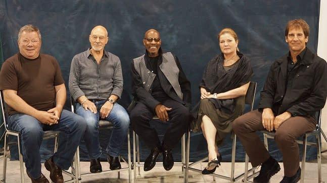 Five Star Trek Captains. One Comic Convention.