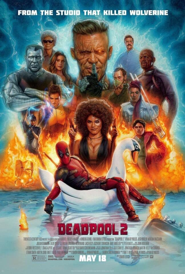Deadpool 2: New Image, Poster, and the Original Script Had Deadpool as a Dad