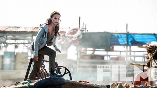 New Tomb Raider Pictures and Magazine Cover