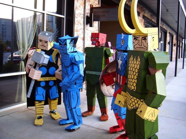 When Marvel Cosplay Goes Minimates (Pics)