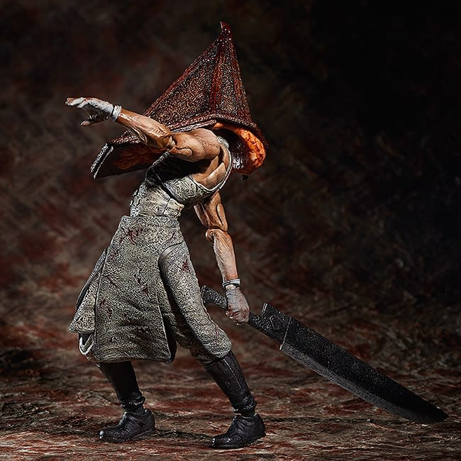 Silent Hill Pyramid Head and Bubble Head Nurse Return to Good Smile