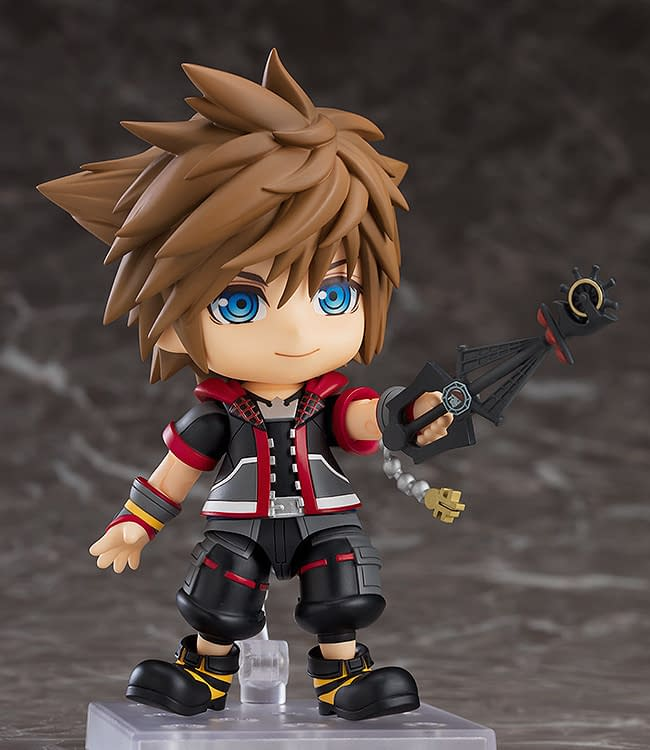 Kingdom Hearts III Sora Fights for Friendship With Good Smile