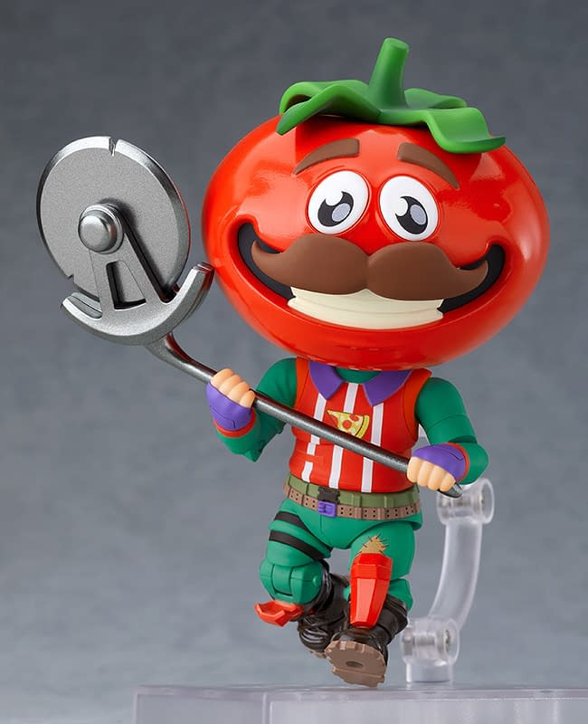 Fortnite Tomato Head Gets His Own Nendoroid from Good Smile