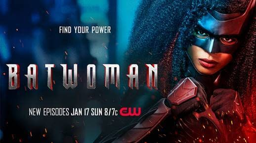 Batwoman -- Image Number: BWNS2_8x12_300dpi -- Pictured (L-R): Javicia Leslie as Batwoman -- Photo: Nino Muñoz/The CW -- © 2020 The CW Network, LLC. All Rights Reserved.