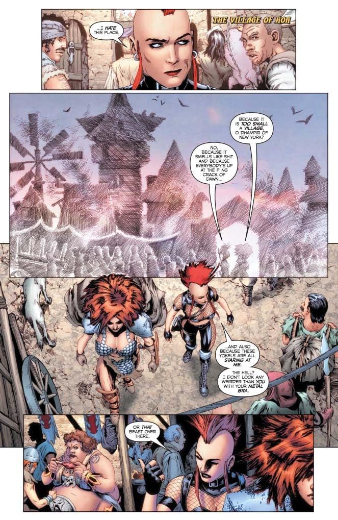 Erik Burnham's Writer's Commentary on Red Sonja: Age Of Chaos #4