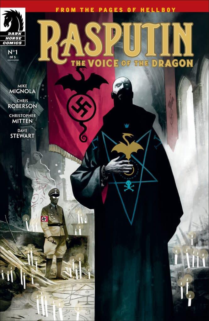 Mike Mignola Returns To Mignolaverse For 3 New Five-Issue Series: Rasputin, Koshchei, And Hellboy: Krampus