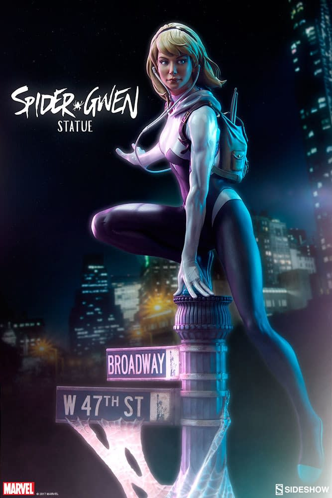 Sideshow Mark Brooks Spider-Gwen Statue