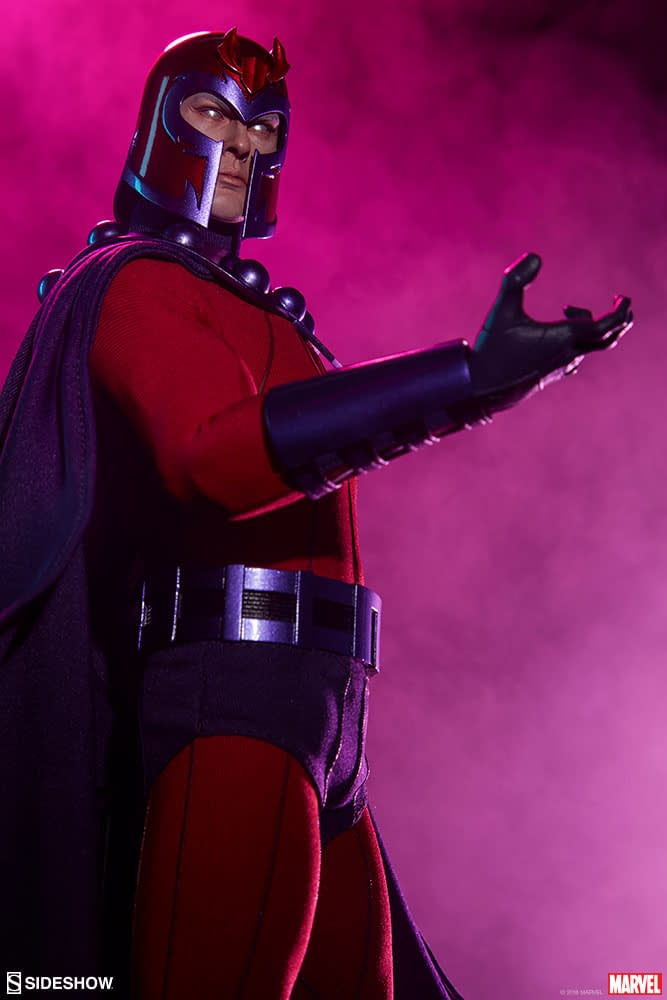 Sideshow Collectibles Magneto Sixth Scale Figure 8