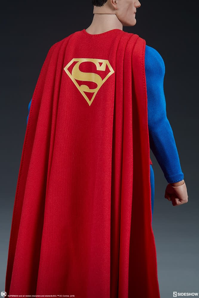 Superman Is the World Finest in New Sideshow Collectibles Figure