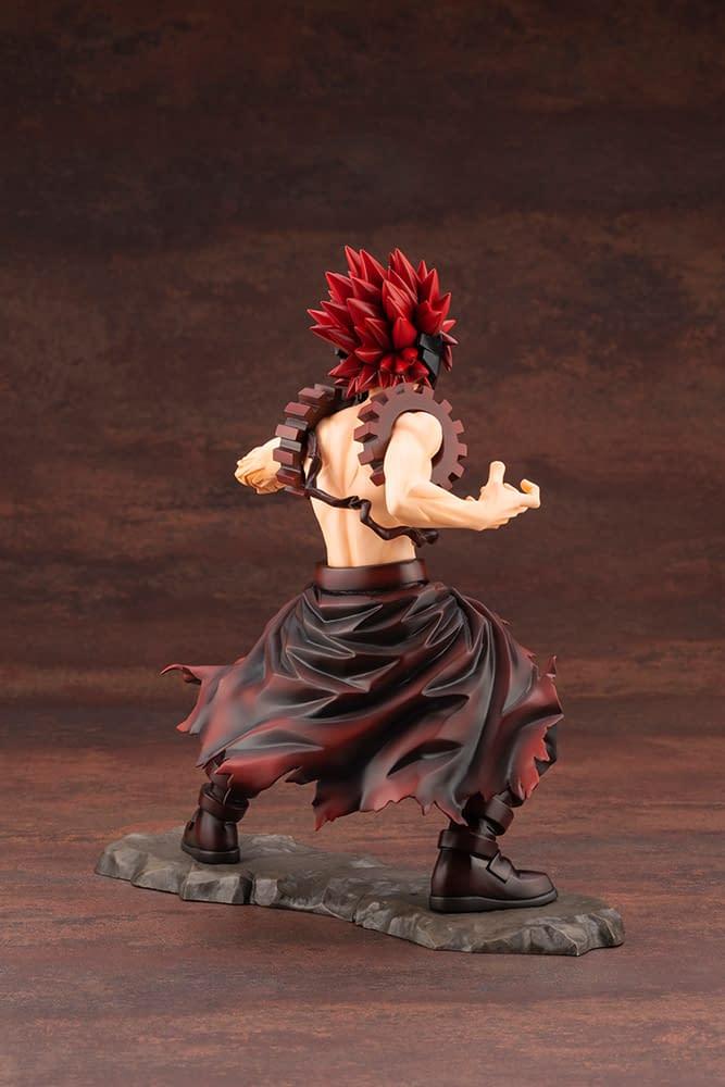 My Hero Academia Red Riot Receives Kotobukiya ArtFX Statue