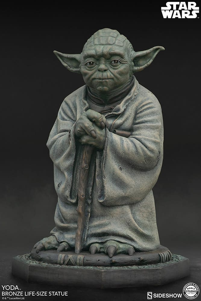 Yoda Gets Expensive with Bronze Sideshow Collectibles Statue