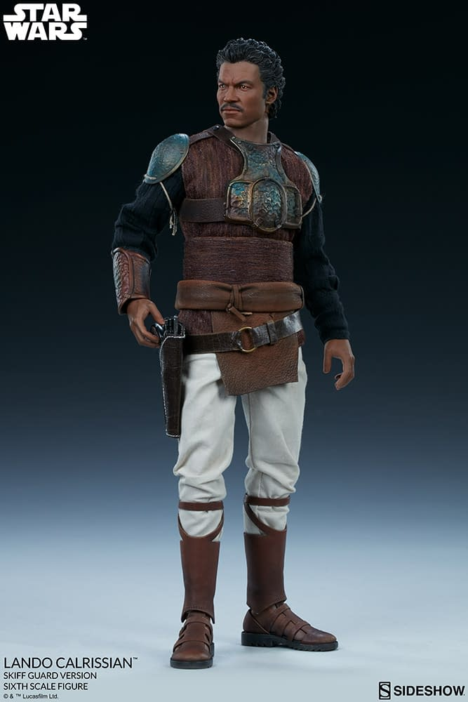 Lando Calrissian Arrives with New Sideshow Collectibles Star Wars Figure