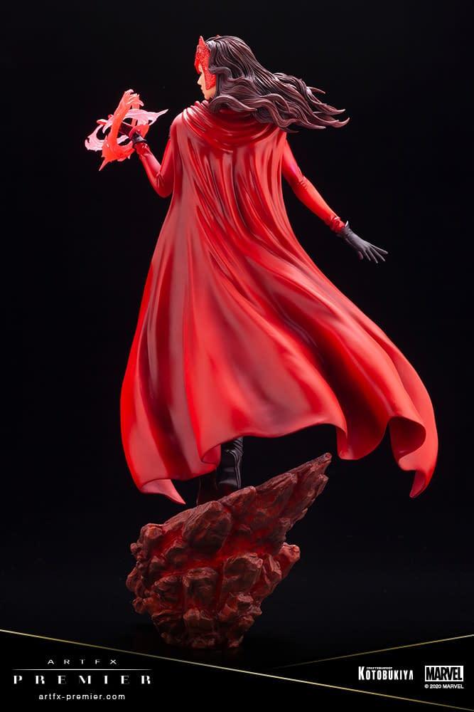 Scarlet Witch Shows Us True Power and Beauty with Kotobukiya