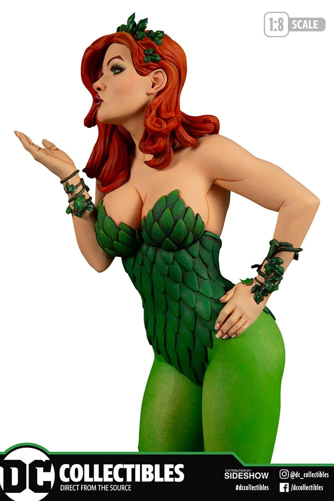 Poison Ivy and Friends Get New Statues from DC Collectibles
