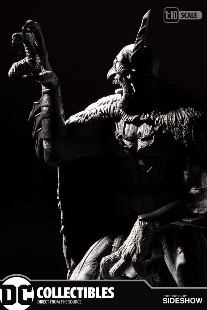 Batman Becomes Feral with New DC Collectibles Statue