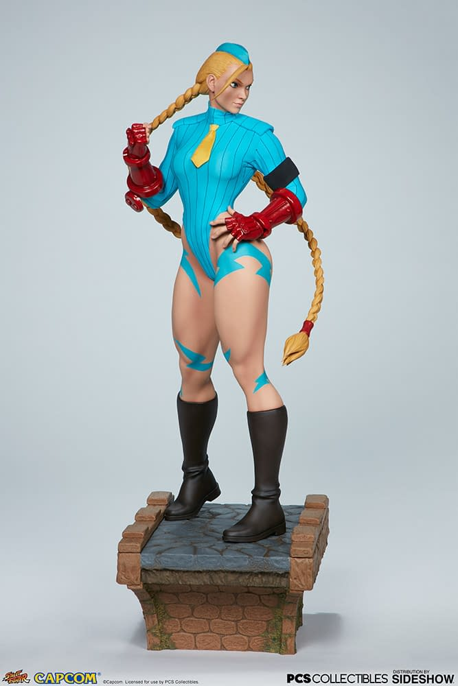"""""""Street Fighter"""" Cammy Gets Three New Statues from PCS Collectibles"""