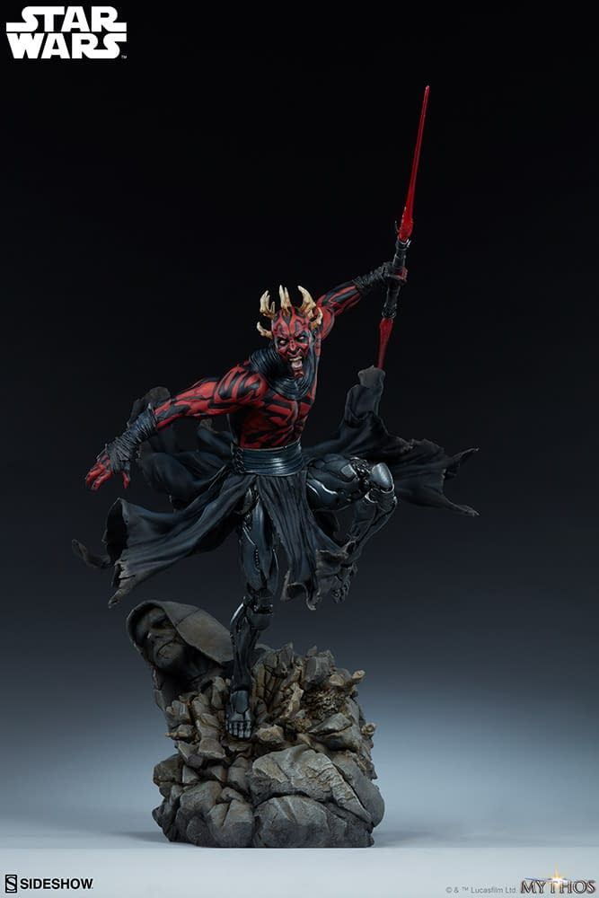 Darth Maul Star Wars Mythos Statue from Sideshow Collectibles