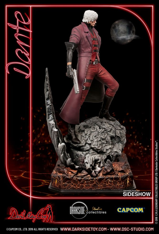 Dante Sees Red in New