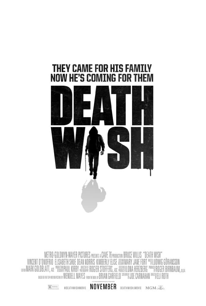The Trailer For The 'Death Wish' Remake Could Not Be More Generic