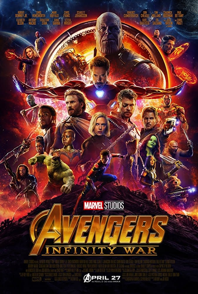 New International Poster for Avengers: Infinity War Has Thanos Looming Large