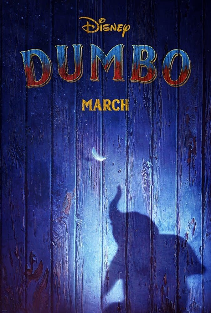 First Poster for the Live-Action Remake of Dumbo