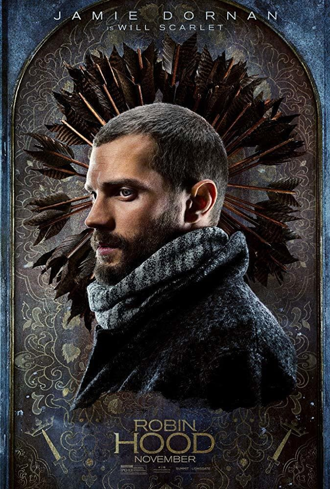 6 New Character Posters for Robin Hood Highlight the Main Cast