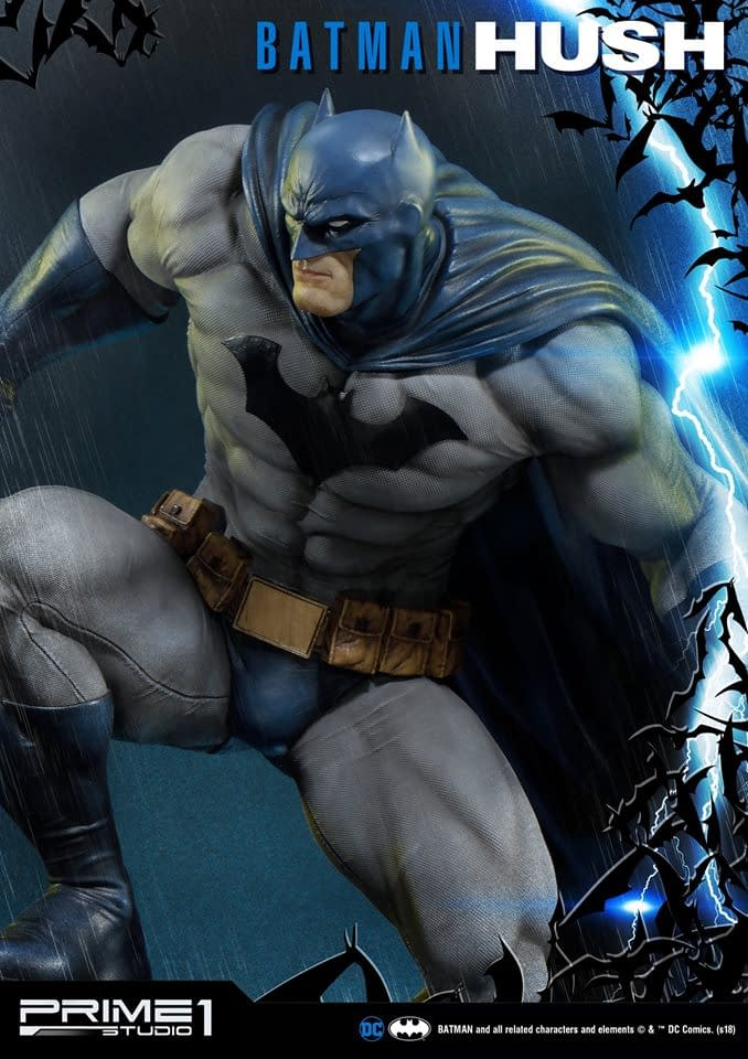 """Batman: Hush"" Statue by Prime 1 Studios Stands Over 2 Feet!"