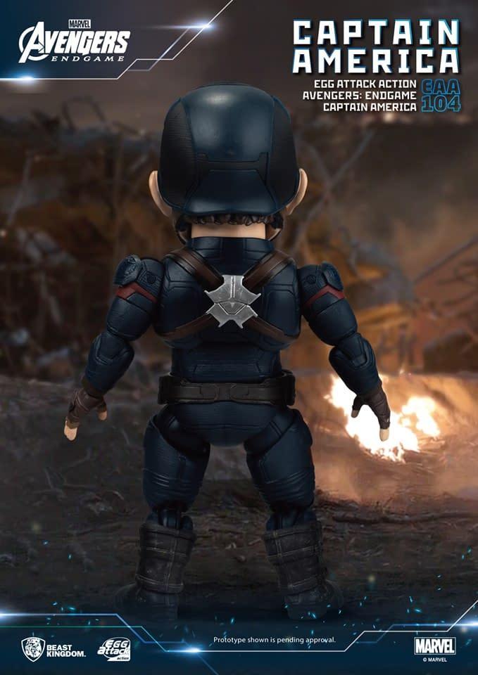 """Avengers: Endgame"" Icons Get Egg Action from Beast Kingdom"