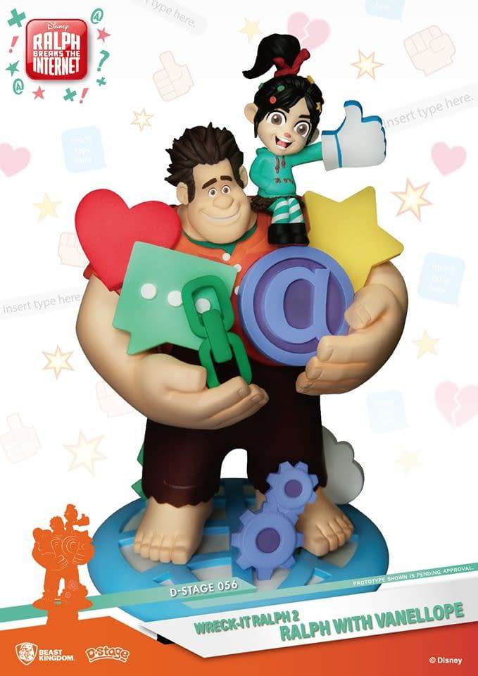 """Wreck It Ralph"" and Vanellope Get an Adorable Statue from Beast Kingdom"