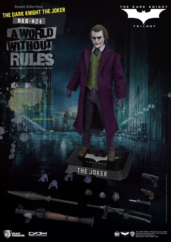 The Dark Knight Joker Figure from Beast Kingdom