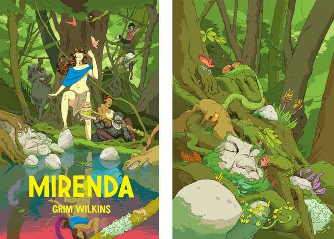Grim Wilkins Brings Mirenda to Image Comics and Leaves Us Speechless