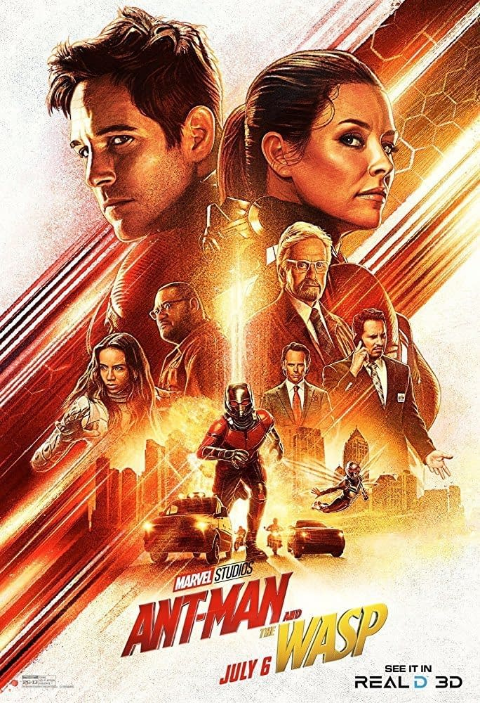 2 New Posters for Ant-Man and The Wasp