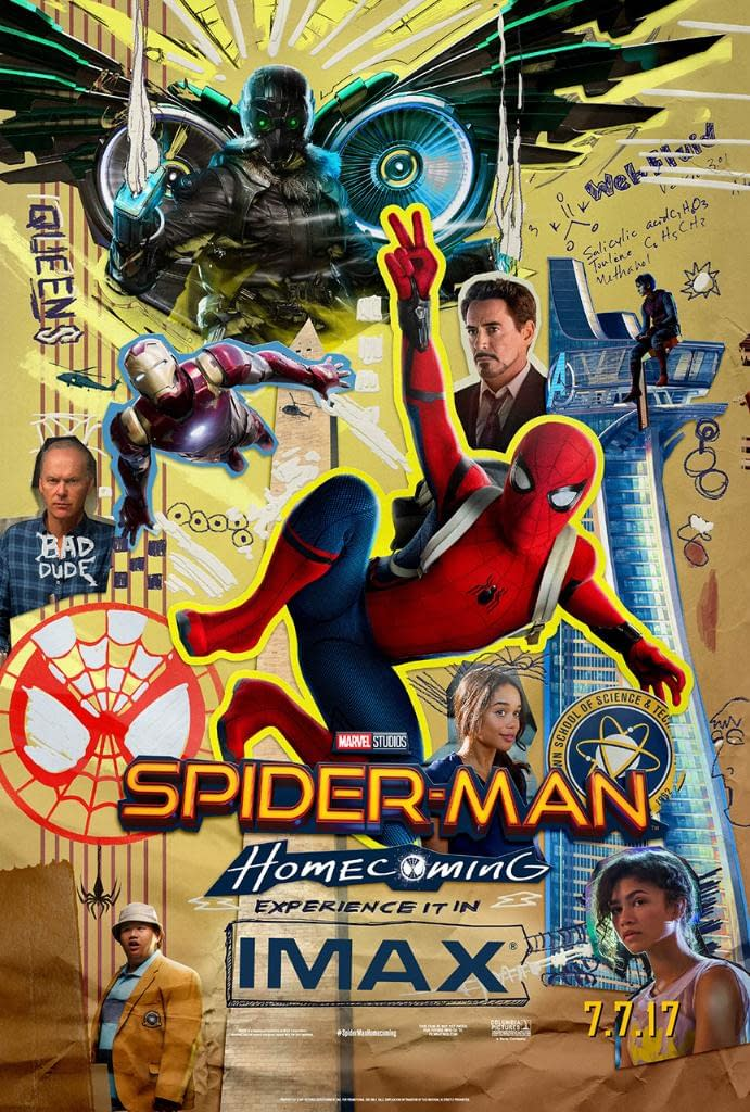 The New IMAX Poster For 'Spider-Man: Homecoming' Is A Mess