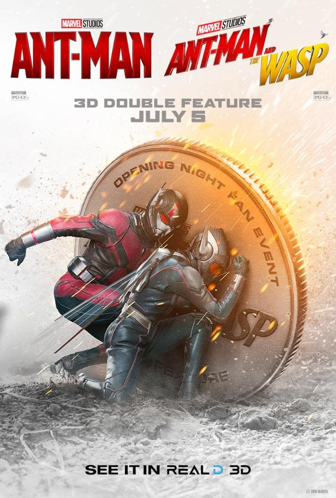 Ant-Man and The Wasp: 3 New TV Spots, Real 3D Advertises a Double Feature