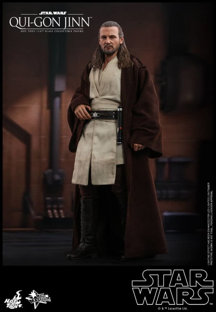 Star Wars Jedi Hero Qui-Gon Jinn Finally Getting a Hot Toys Figure