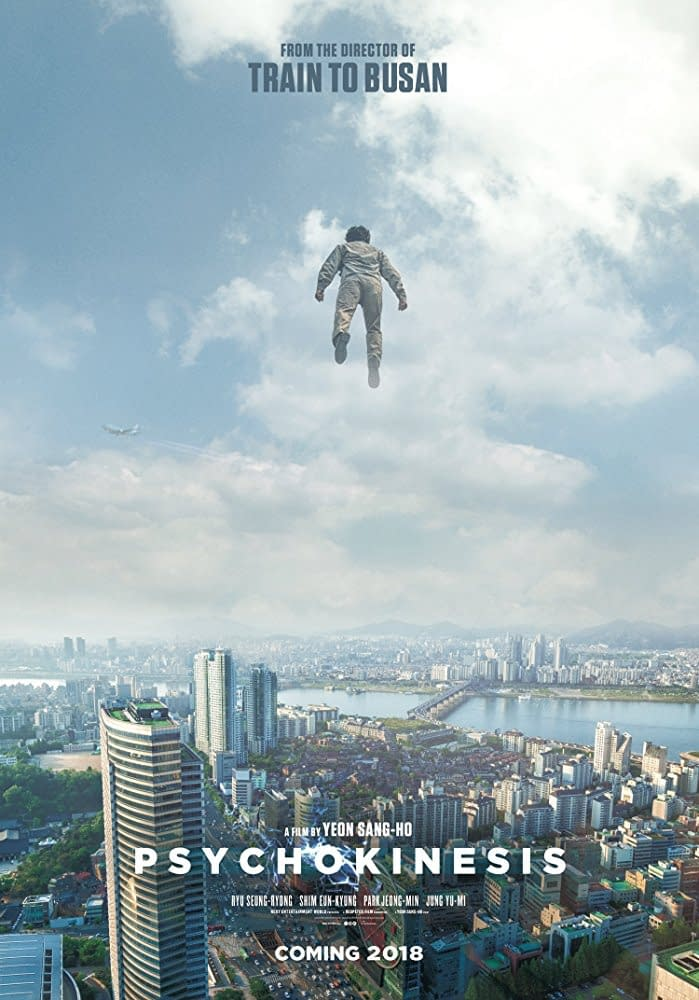 Psychokinesis is the Next Big Movie from the Director of Train to Busan