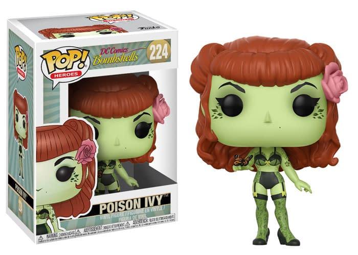 Funko DC Bombshells Poison Ivy Pop