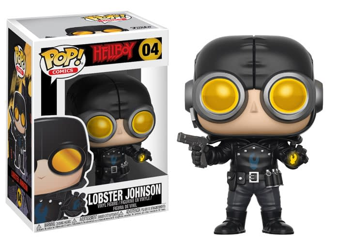 Funko Hellboy Pop Lobster Johnson