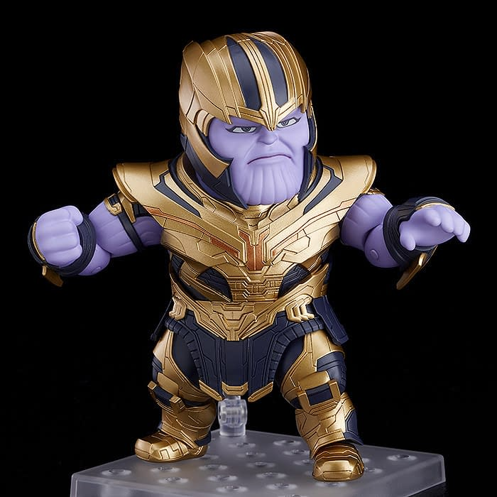 Thanos Enters the Endgame with New Good Smile Company Nendoroid
