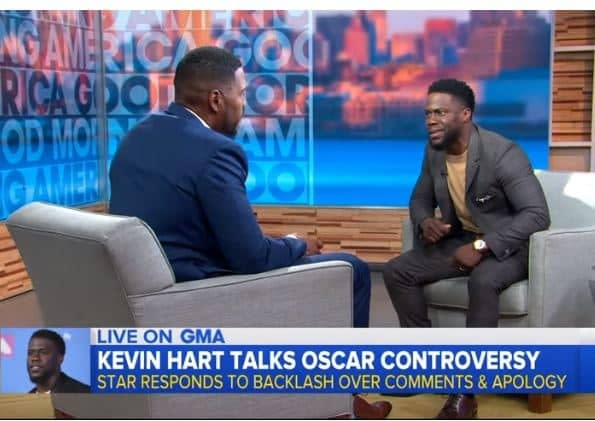 """Kevin Hart on Oscars 2019 Hosting: """"I'm Over That, I'm Over the Moment"""""""