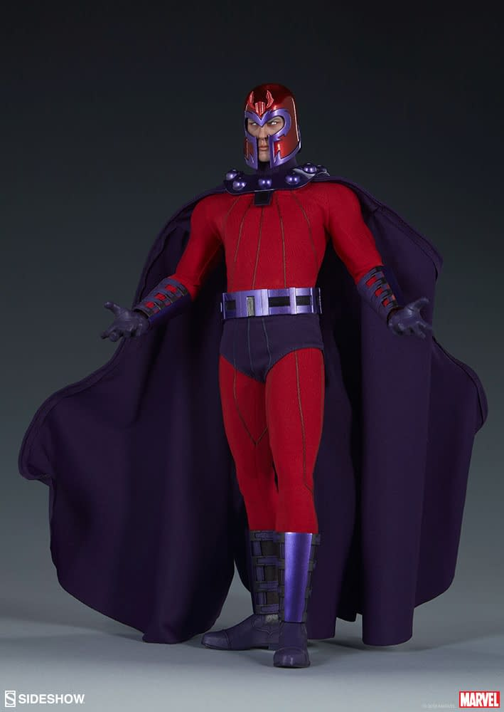Sideshow Collectibles Magneto Sixth Scale Figure 4