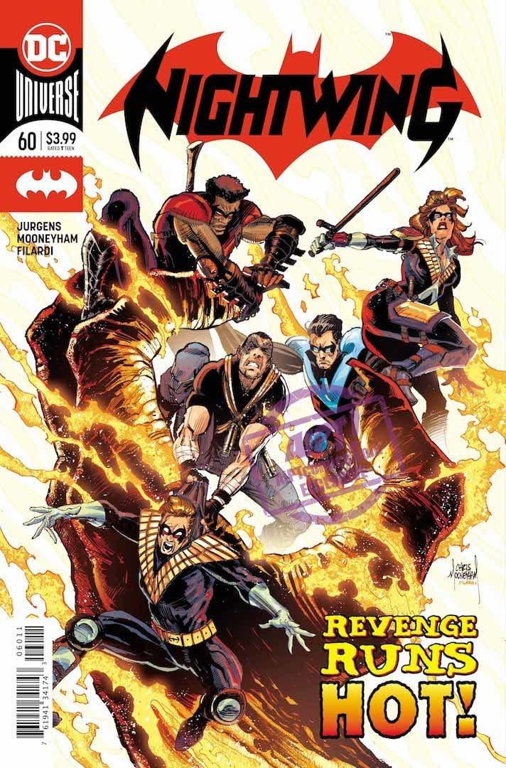 The Nightwings Know Exactly What to Fight Fire With (Nightwing #60 Preview)