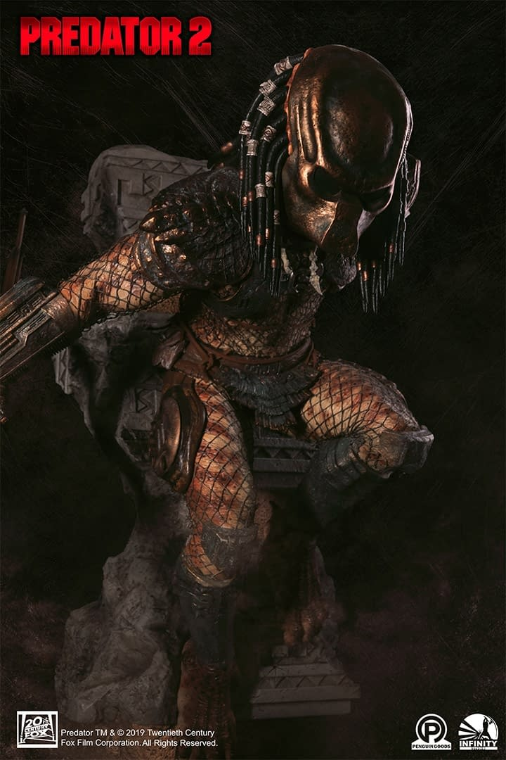 Predator Enters the Concrete Jungle in New Infinity Studio Statue